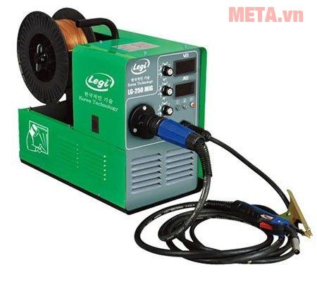 Hình ảnh máy hàn điện tử Legi LG-250D MIG/MMA