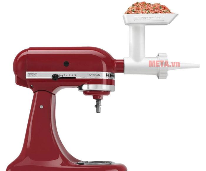 Hình ảnh minh họa sử dụng sản phẩm bộ nhồi xúc xích