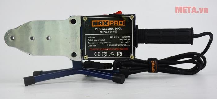 Hình ảnh máy hàn nhiệt ống nước Maxpro MPPW750/1500