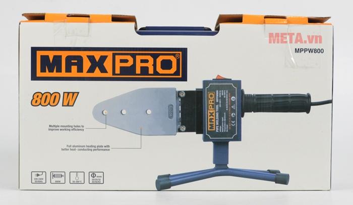 Hình ảnh máy hàn nhiệt ống nước Maxpro MPPW800