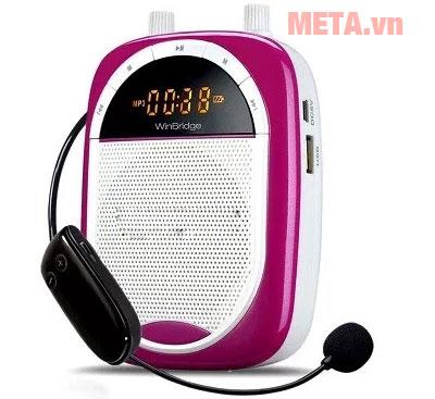 Máy trợ giảng Shidu F16-FM màu hồng