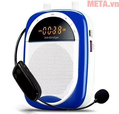 Máy trợ giảng Shidu F16-FM màu xanh