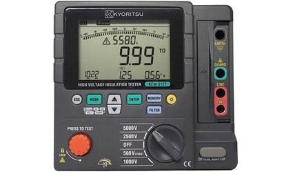 Đồng hồ đo điện trở cách điện Kyoritsu 3127 nhỏ gọn, dễ mang theo