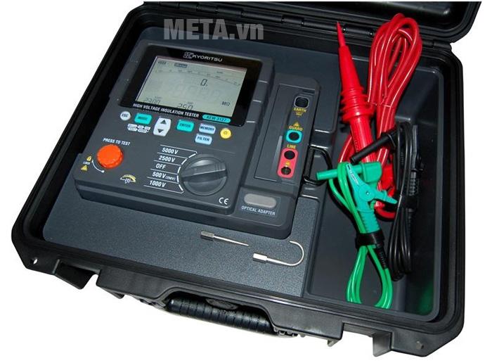 Đồng hồ đo điện trở cách điện Kyoritsu 3127 đi kèm que đo