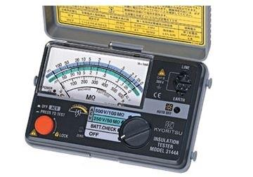Đồng hồ đo điện trở cách điện Kyoritsu 3146A dành cho thợ điện