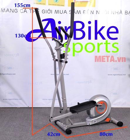 Hình ảnh xe đạp tập thể dục Air Bike AB-02