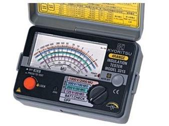 Đồng hồ đo điện trở cách điện Kyoritsu 3314 có phạm vi đo lên tới 100MΩ