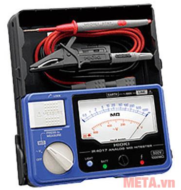 Đồng hồ đo điện trở cách điện Hioki IR4017-20 kèm que đo