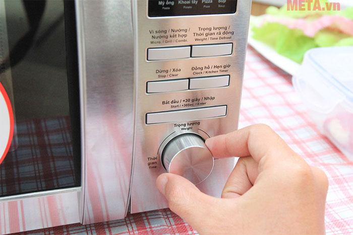 Núm vặn sẽ giúp bạn điều chỉnh công suất phù hợp với nhu cầu sử dụng