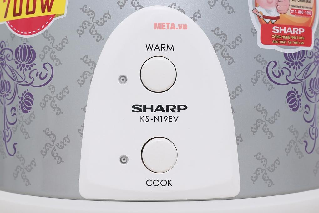 Nút chuyển đổi ché độ nấu và làm ấm