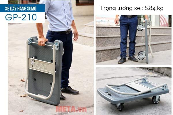 Xe thiết kế thông minh, sử dụng an toàn và bền hơn