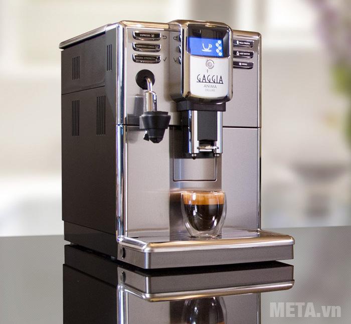 Máy pha cà phê tự động Gaggia Anima Deluxe màu bạc