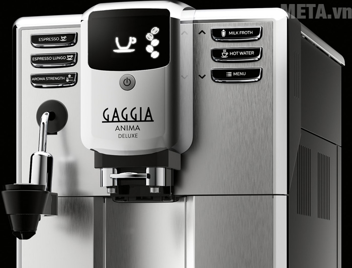 Máy pha cà phê tự động Gaggia Anima Deluxe có phím bấm điện tử