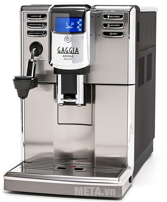 Máy pha cà phê tự động Gaggia Anima Deluxe có kiểu dáng sang trọng và hiện đại