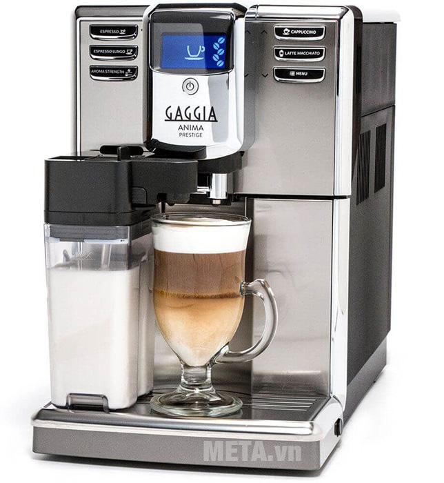 Máy pha cà phê tự động Gaggia Anima Prestige lựa chọn thức uống dễ dàng