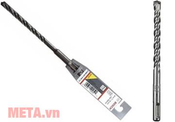 Mũi khoan bê tông SDS Plus 3 Bosch 2608831184 có tổng chiều dài 160mm