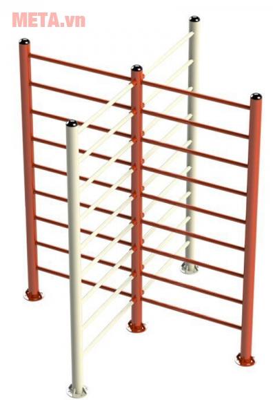 Hình ảnh thang vận động chữ X VIFA731145 màu cam