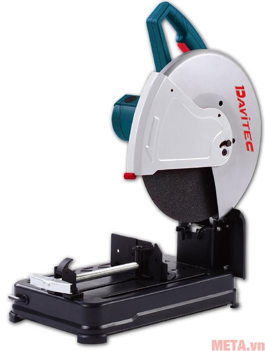 Máy cắt sắt Davitec DV7355 có thể điều chỉnh góc cắt 0 độ hoặc góc cắt 45 độ dễ dàng