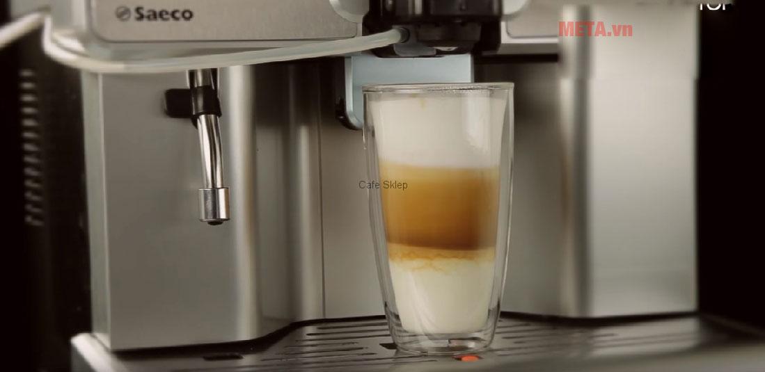 Máy pha cà phê Saeco Aulika Top HSC có chất liệu cao cấp
