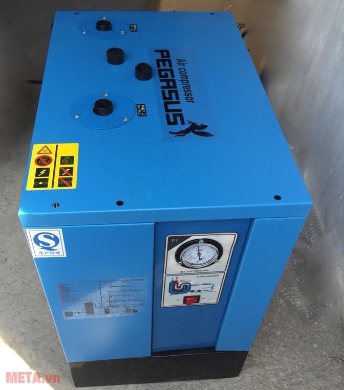 Máy sấy khí có chức năng sấy khô không khí, là thiết bị vô cùng quan trọng trong hệ thống máy nén khí