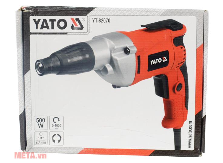 Hộp của máy vặn vít dùng điện Yato YT-82070