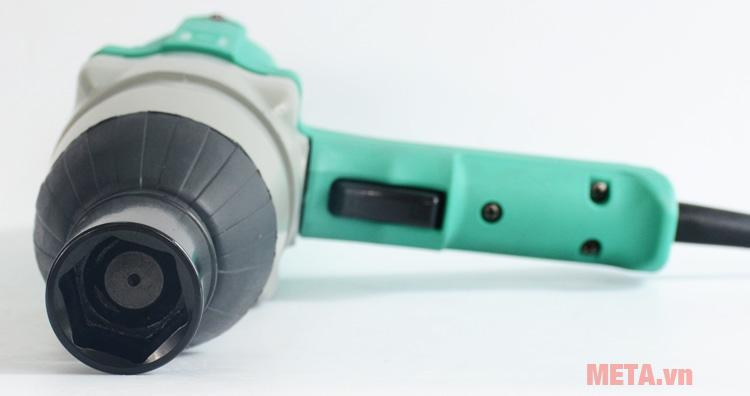 Đầu siết của máy vặn bu lông 620W DCA APB22C (P1B-FF-22C) có kích thước 12.7mm