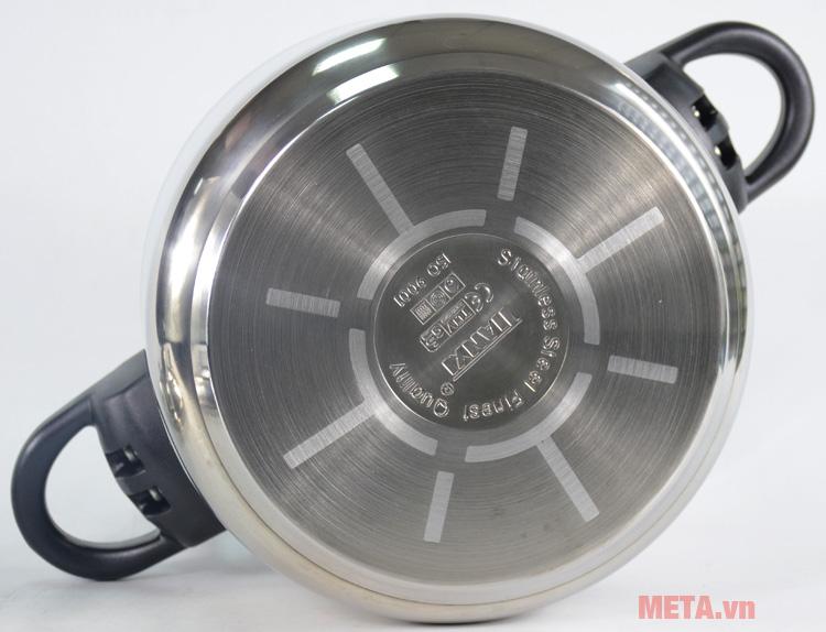 Nồi áp suất Tianxi BM-CS24 24cm có đáy 3 lớp sử dụng được trên mọi loại bếp
