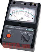 Đồng hồ đo điện trở cách điện Kyoritsu 3121A có thiết kế nhỏ gọn