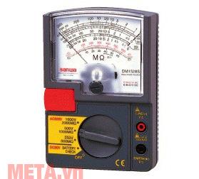 Đồng hồ đo điện trở cách điện Sanwa DM1528S màu đen