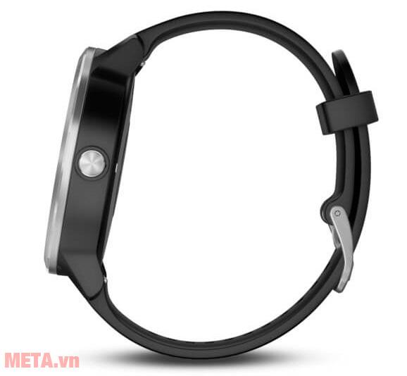 Đồng hồ Vivoactive 3 có thiết kế đeo tay thuận tiện, êm tay