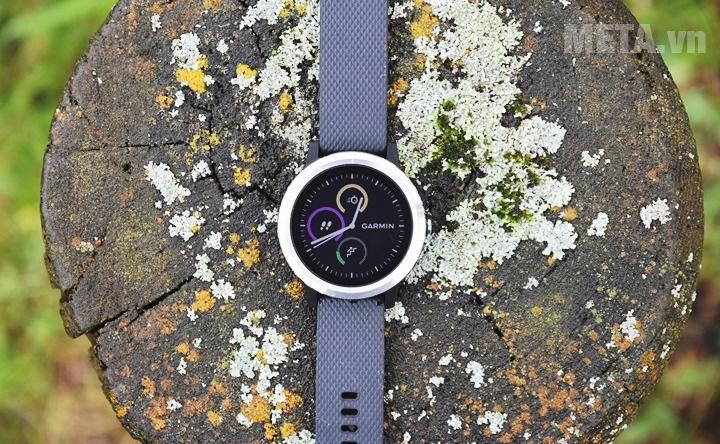 Đồng hồ Vivoactive 3 không những giúp bạn quan sát thời gian mà còn giúp theo dõi sức khỏe hàng ngày