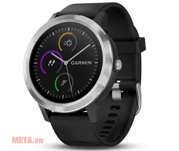 Đồng hồ Vivoactive 3 có thiết kế thời trang, hiện đại