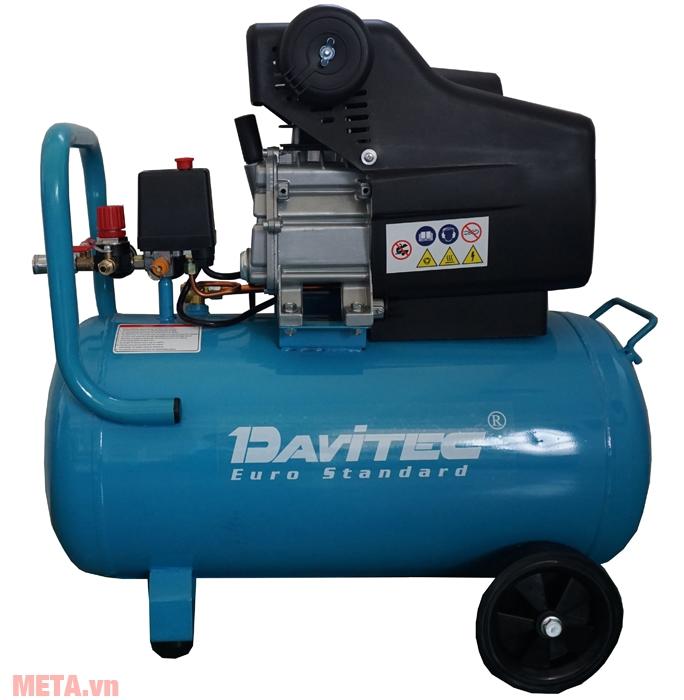 Máy nén khí Davitec DV9050 vận hành với công suất lớn 2.5HP
