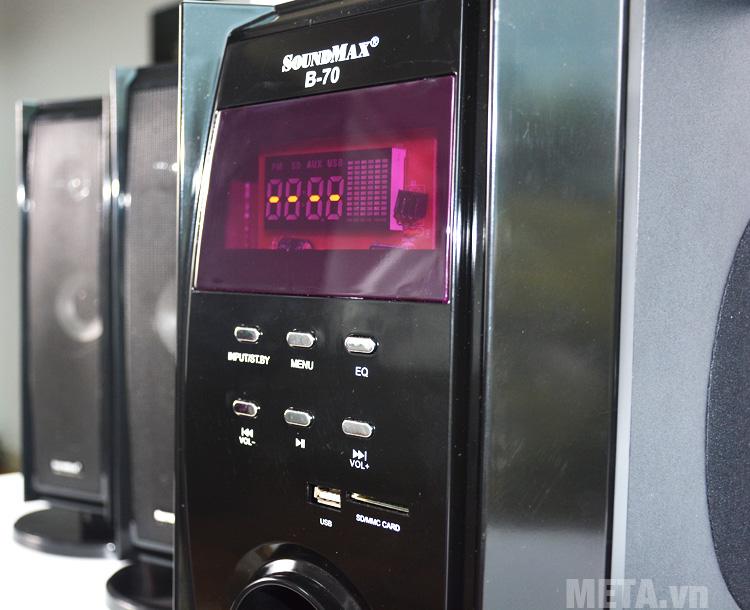 Bảng điều khiển loa bluetooth SoundMax bluetooth B70 - 5.1