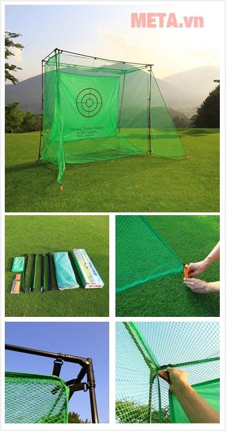 Khung lưới tập golf