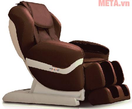 Ghế massage toàn thân Maxcare Max-684 màu nâu