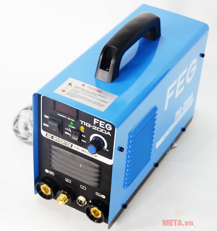 Công suất máy hàn inox, que FEG TIG 200A