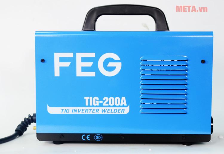 Máy hàn inox, que FEG TIG 200A có thiết kế nhỏ gọn