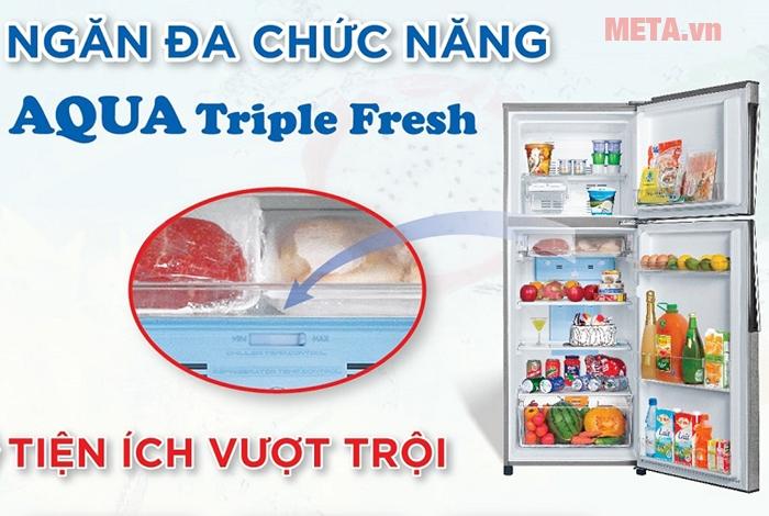 Ngăn đông mềm tủ lạnh