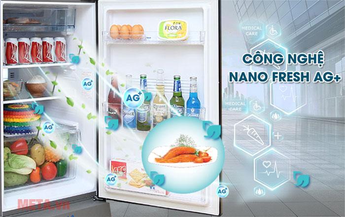 Tủ lạnh có công nghệ kháng khuẩn