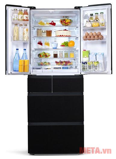 Tủ lạnh Inverter Aqua AQR-IFG50D giúp bảo quản thực phẩm hiệu quả