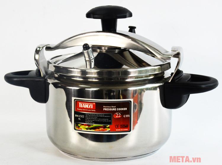 Thiết kế nồi áp suất inox Tianxi BM-CS22