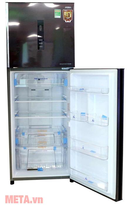 Tủ lạnh khay kính chịu lực