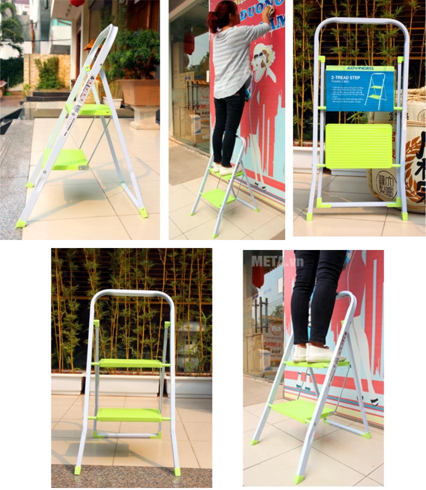 Thang ghế 2 bậc