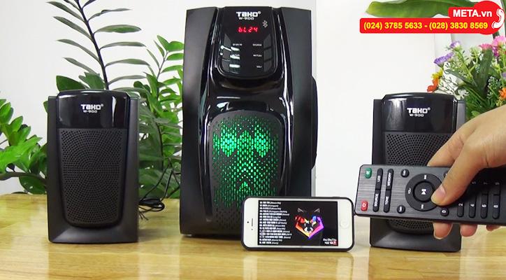 Loa Tako W900 kết nối bluetooth