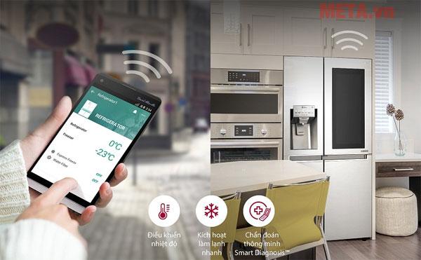 Bạn có thể điều khiển từ lạnh từ xa bằng chiếc điện thoại thông minh