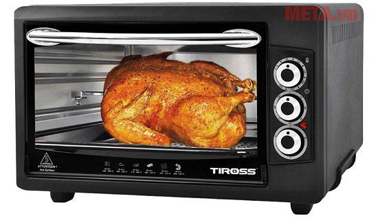 Lò nướng thùng Tiross TS9603 có dung tích 50 lít