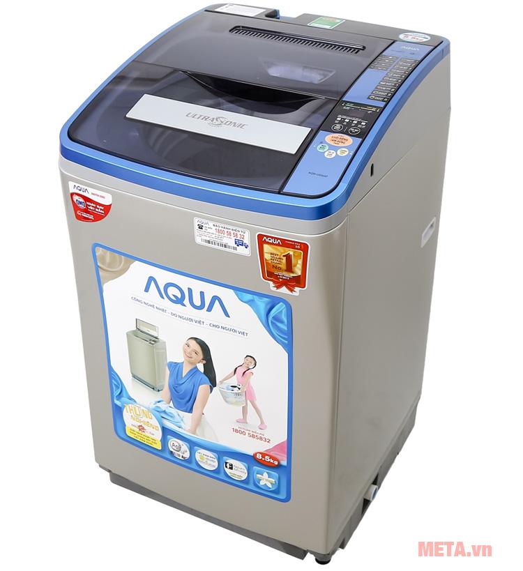 Hình ảnh máy giặt cửa trên Aqua AQW-U850AT