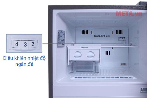 Điều khiển ngăn đá với 4 mức nhiệt độ
