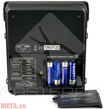 Đồng hồ đo điện trở dùng pin